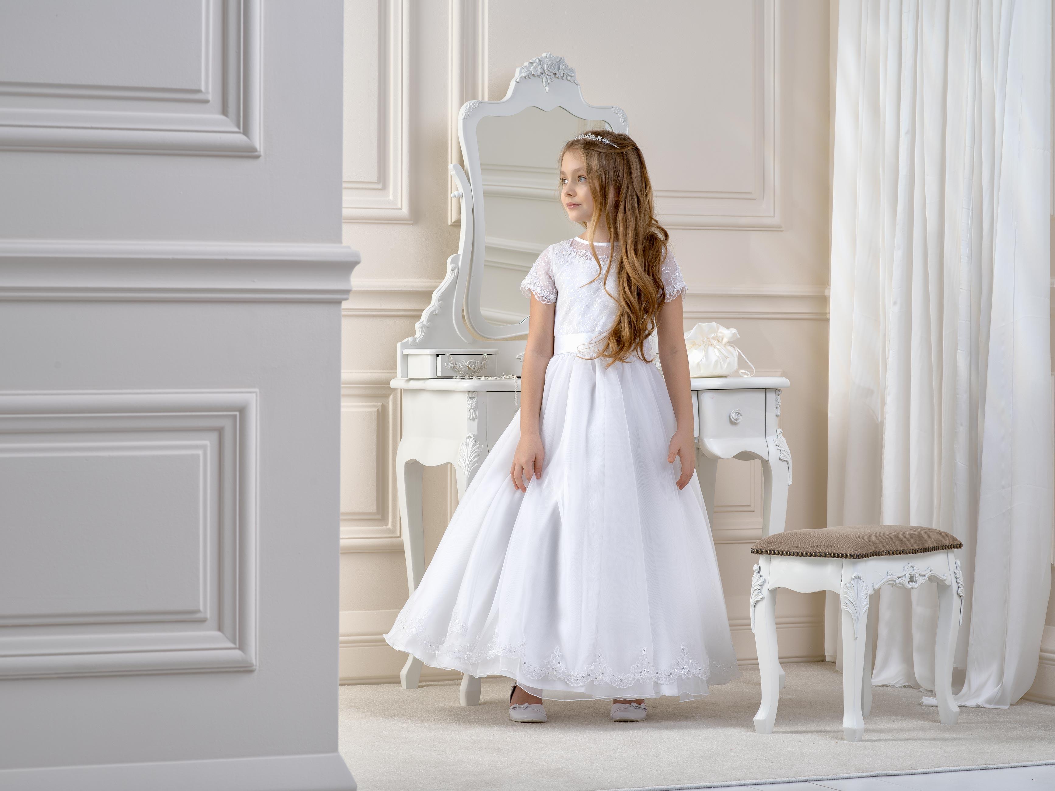 Flower Girl/Communion Dress LB14