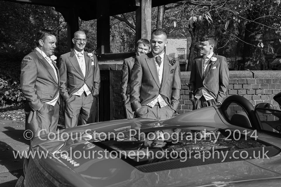 Lief Bridal Suppliers, Colourstone Photography, Groomsmen