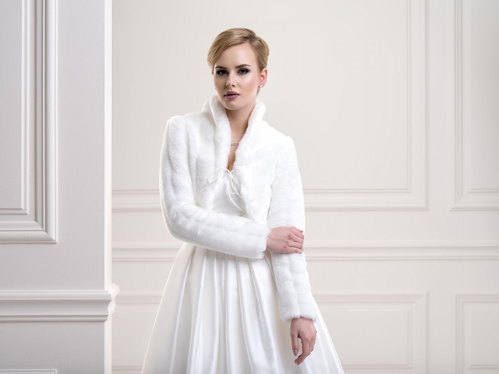 Fur Bridal jacket FFJ26