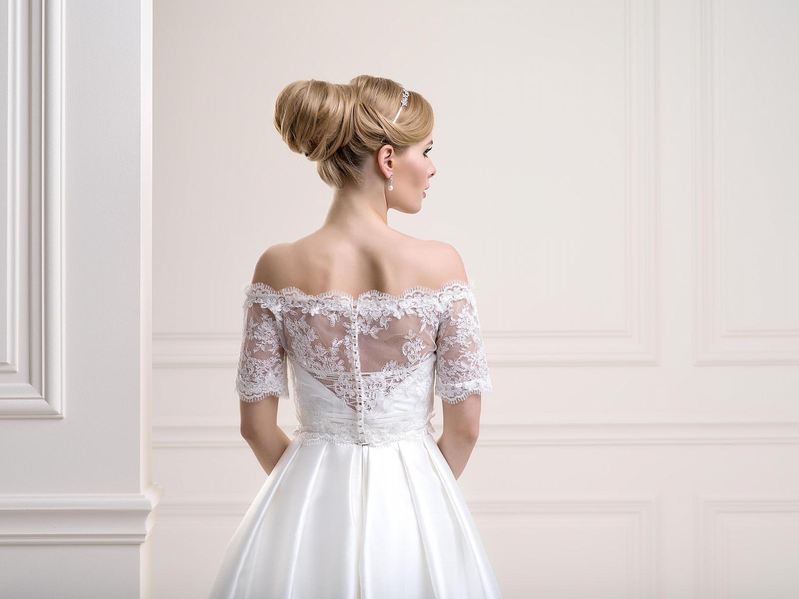 Bridal Jackets LJ83Back