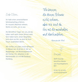 STERNENKINDER Duisburg | Flyer