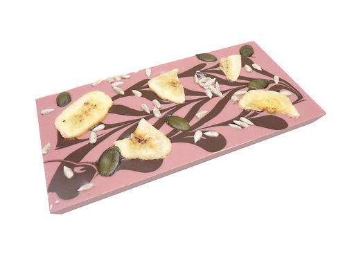 Banane - Sonnenblumenkerne - Kürbiskerne