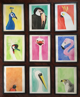 Bird art and more