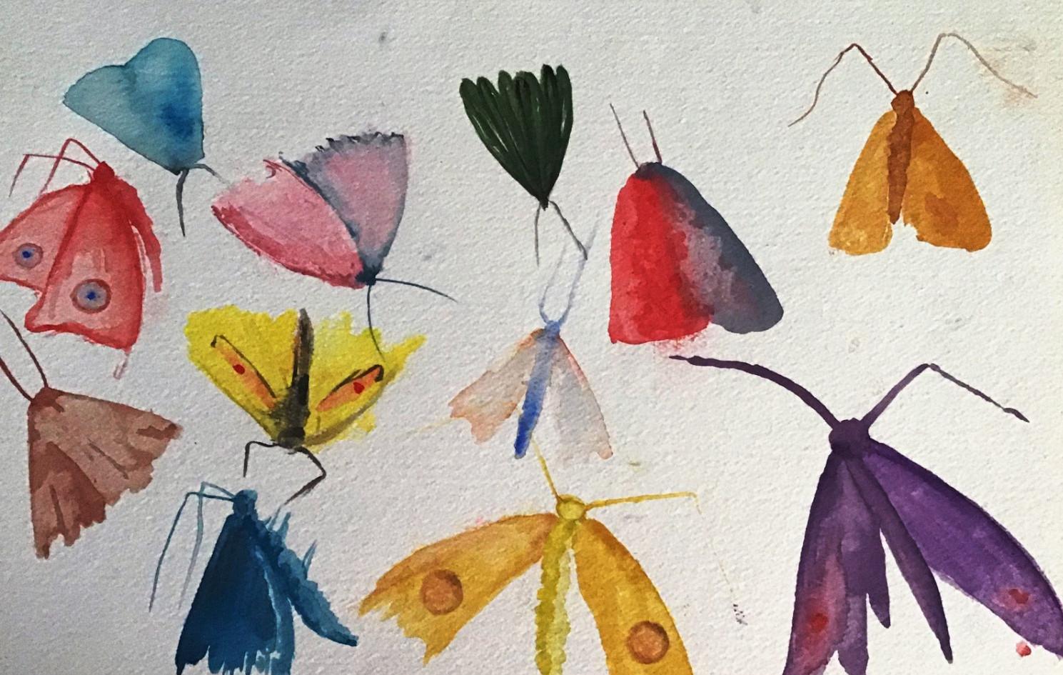 Modeled after Allyson Reynolds' Moth series