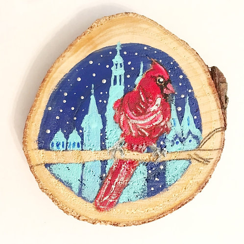 Hand-Painted ASL Ornament