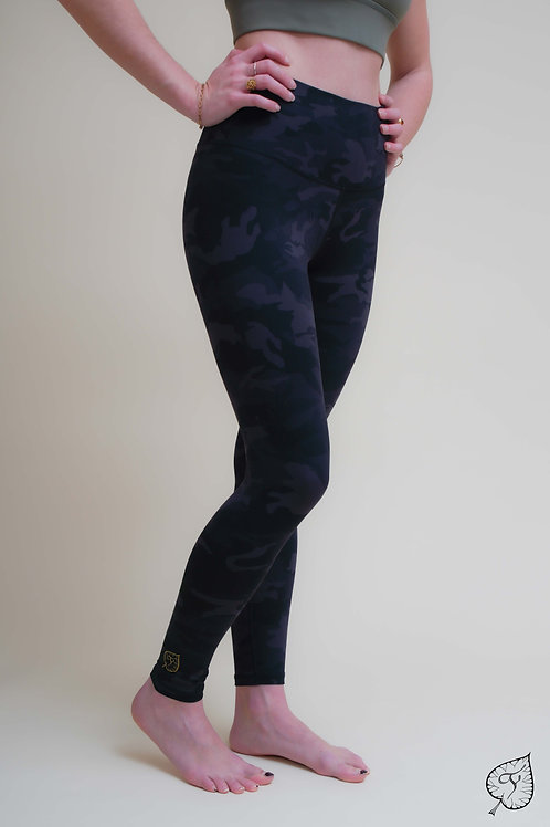"Legging ""Tie & Dye"" Noir"