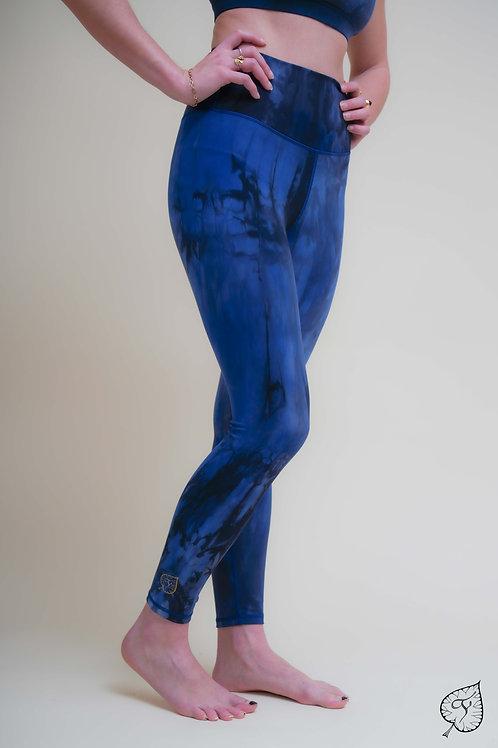 """Legging """"Tie & Dye"""" Bleu"""