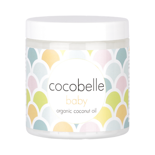 Cocobelle Baby Premium Organic Coconut Oil 8fl oz