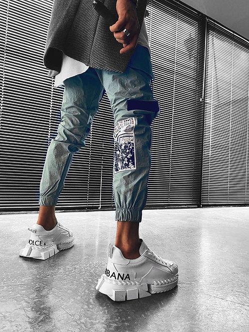 Vyriškos jogger stiliaus kelnės