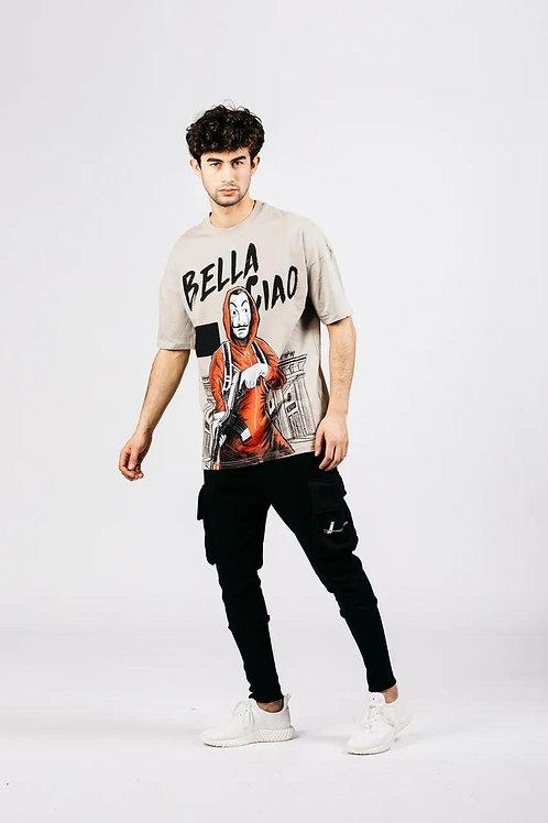 Bella Cioa vyriški marškinėliai