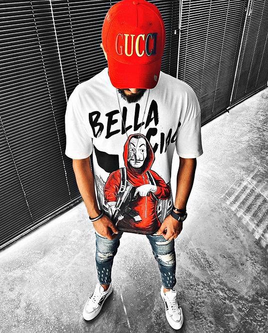Bella Ciao vyriški marškinėliai