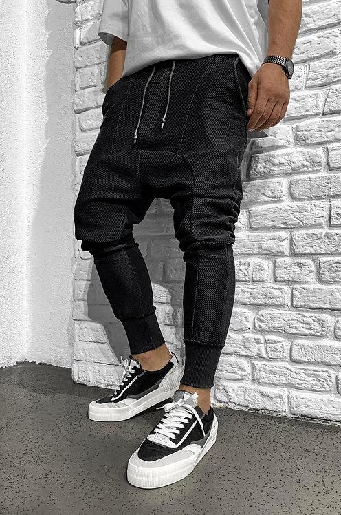 Jogger stiliaus kelnės