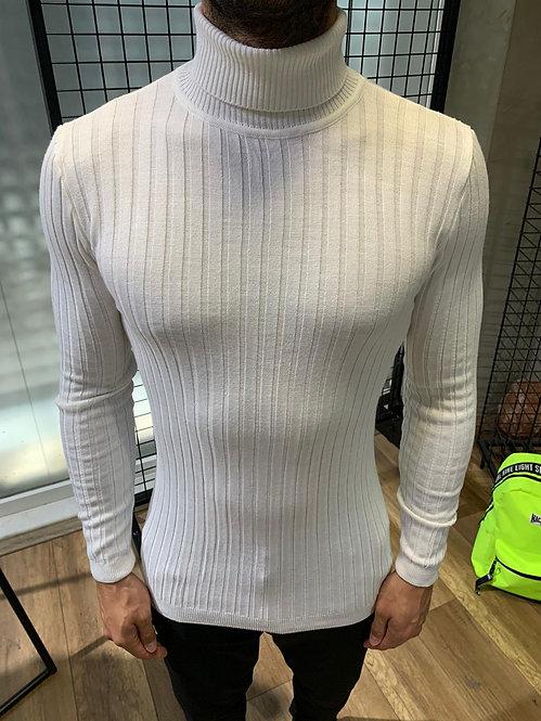 Megztinis aukšta apykakle