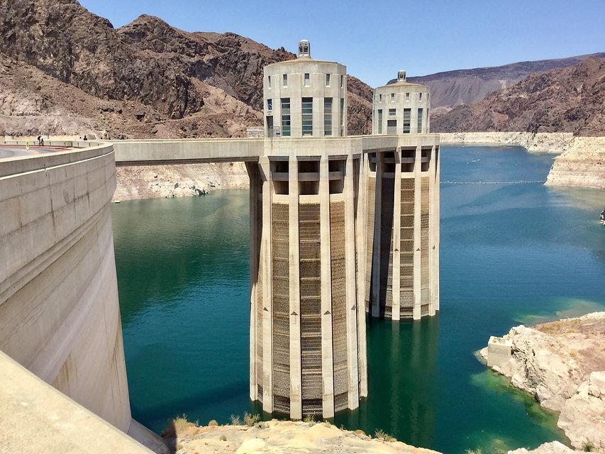 The Arizona intake towers at Hoover Dam.jpg