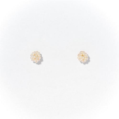 baby's breath earrings