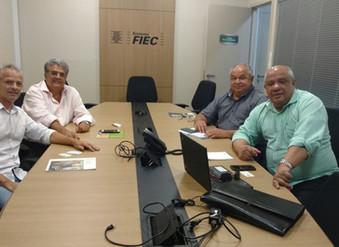 Reunião do Sindimest discute projetos de tecnologia de monitoramento