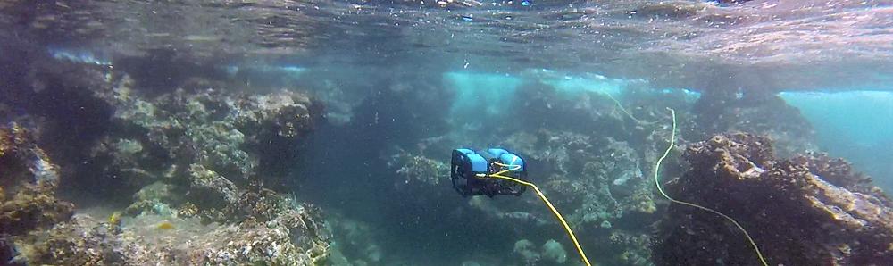 ROVs da DronDrones para inspeções subaquáticas