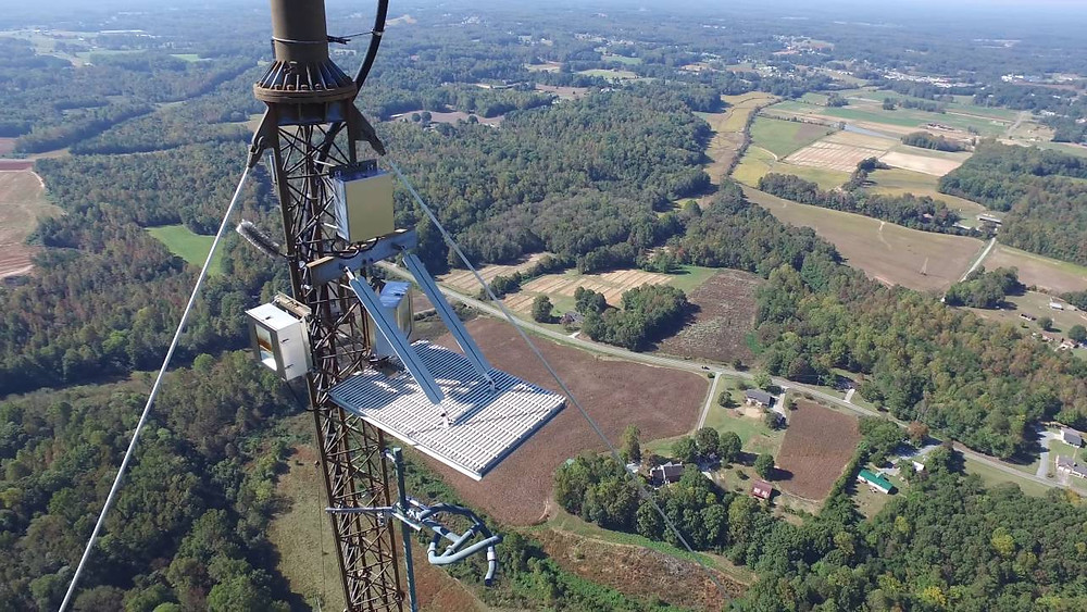 Dron Drones nas inspeções de telecomunicações