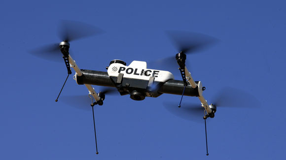 Drones na segurança pública