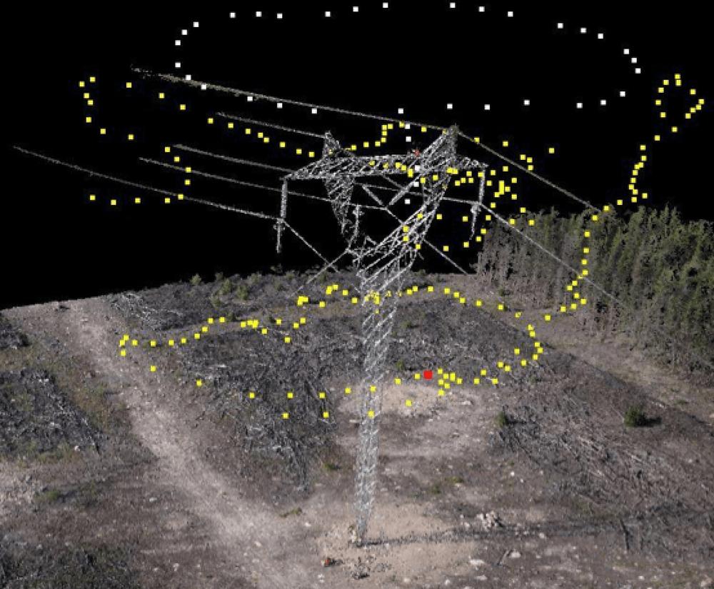 Inspeções 3D com drones
