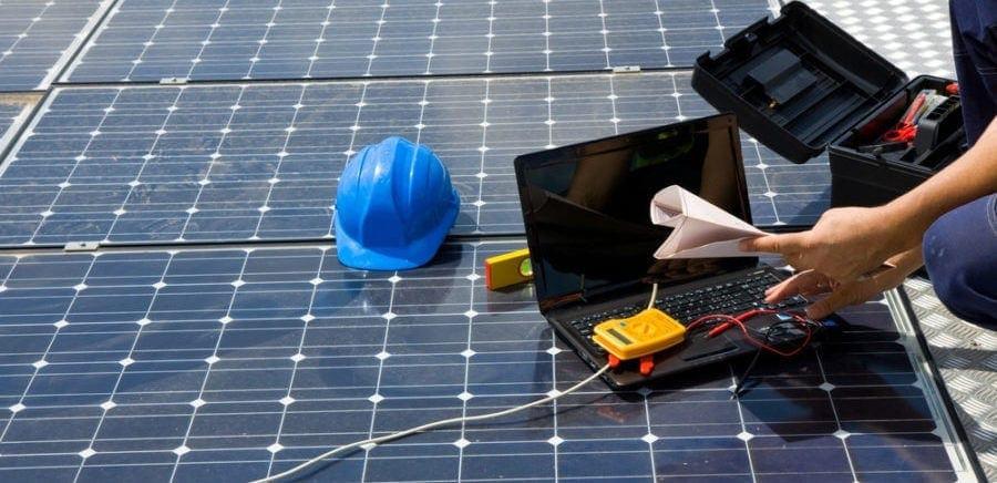 Drones na inspeção de painéis fotovoltaicos