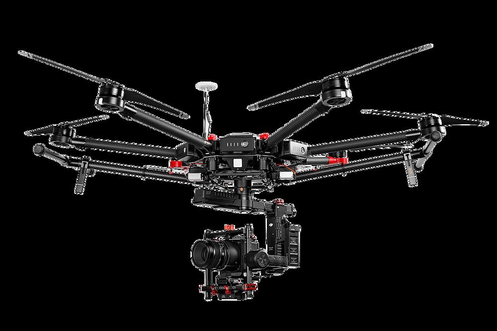 Drone Matrice 600 da DronDrones Technolgies