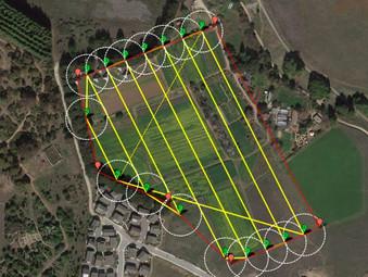 Drones no reflorestamento