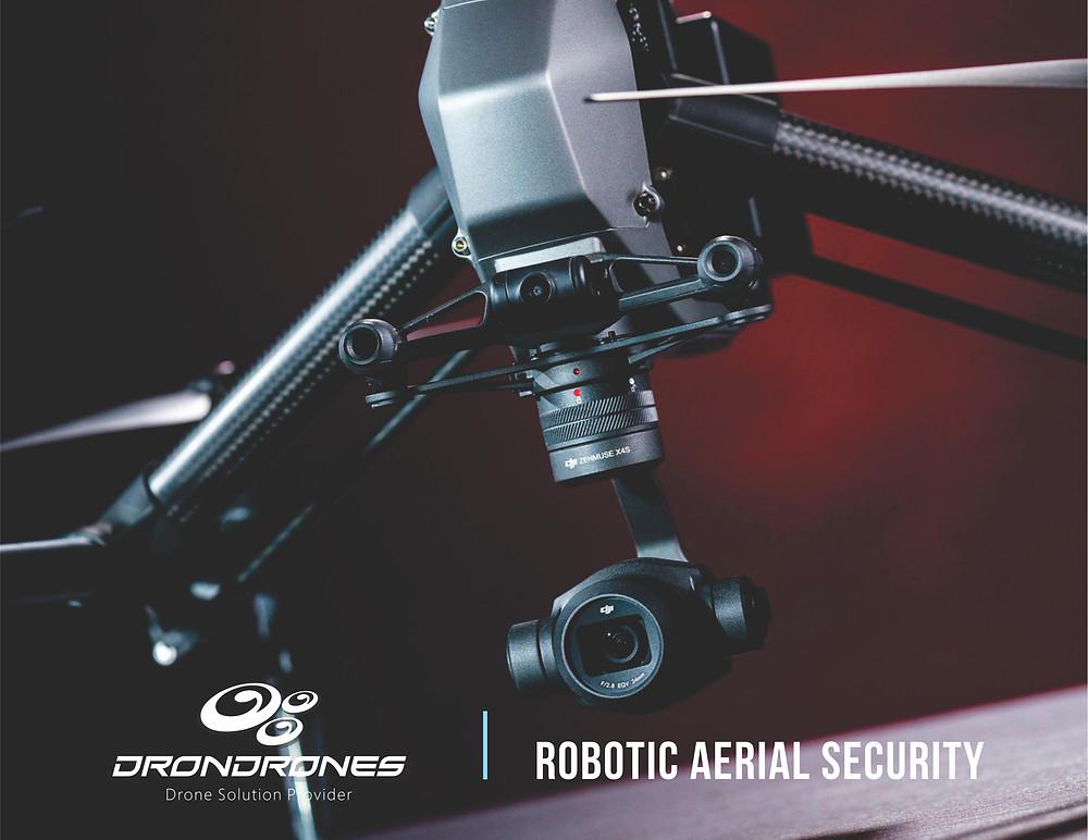 Projetos de Segurança com drones - Dron Drones