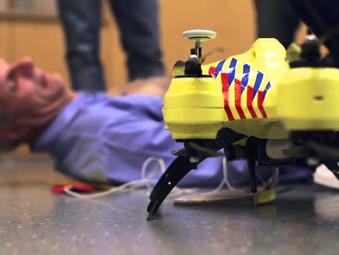 Uso de Drones para primeiros socorros