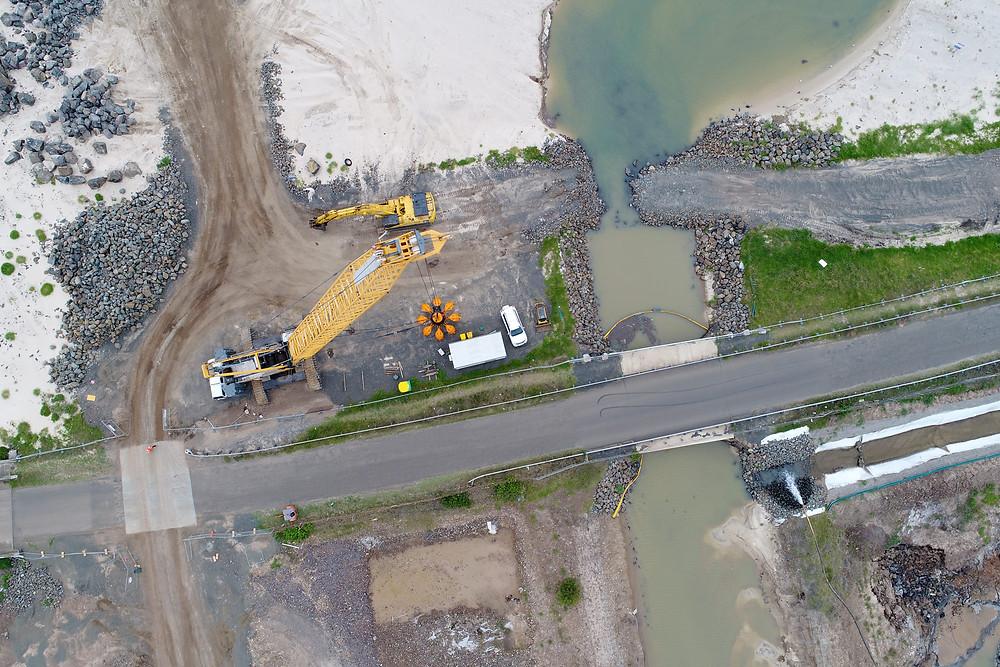 Drone no Canteiro de Obras