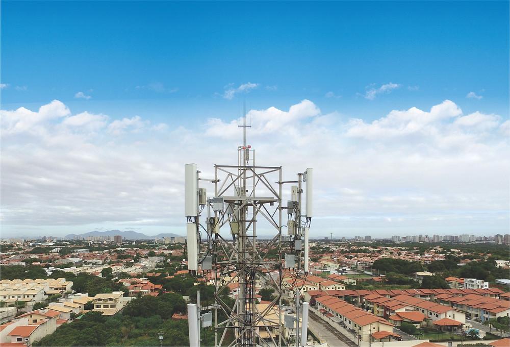 Drones na Inspeção de torres de transmissão de telecomunicação