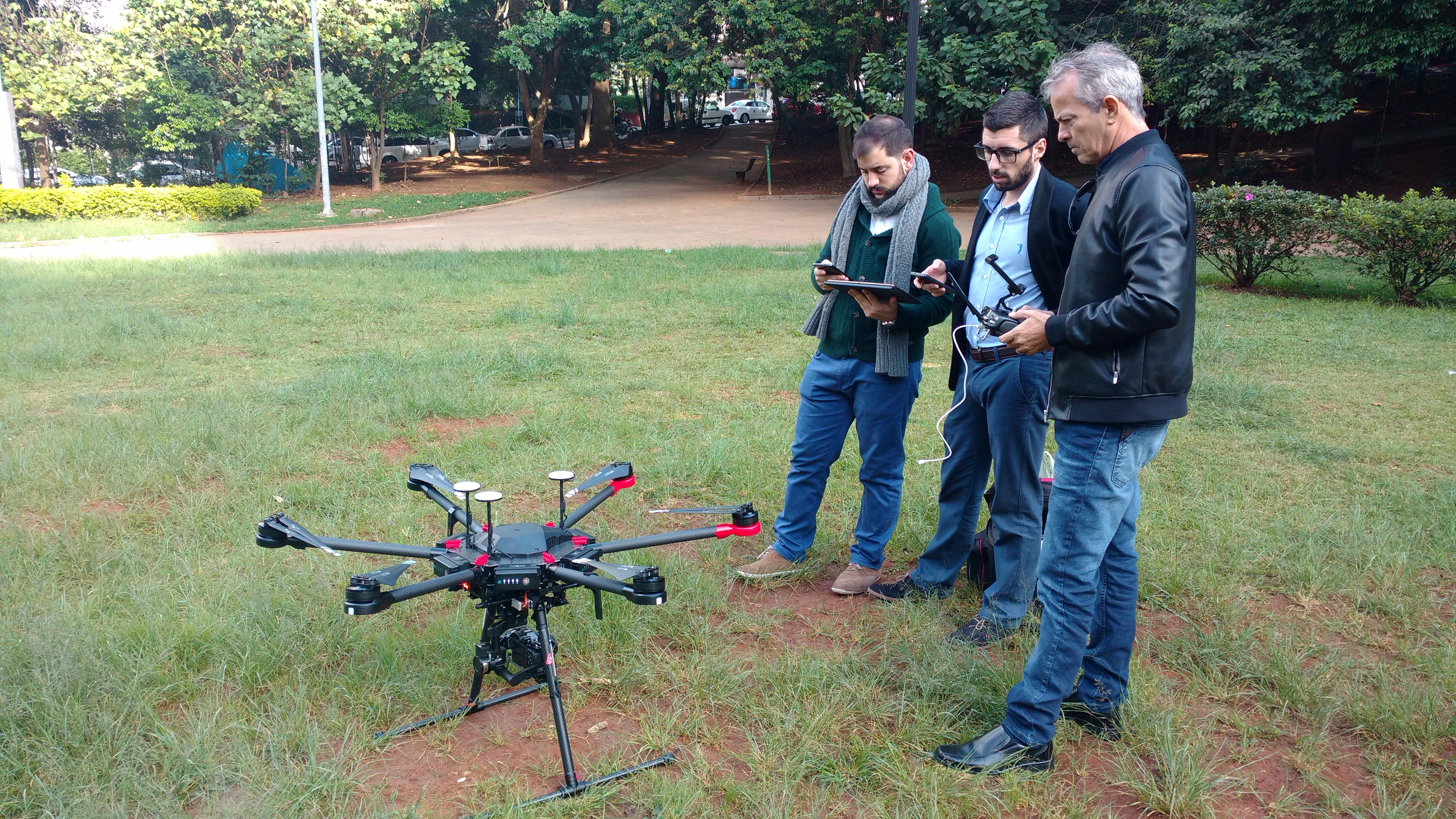 Consultoria na implantação de drones