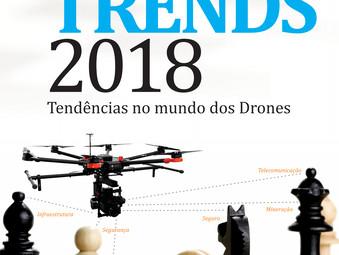 As principais aplicações comerciais com Drones pelo mundo afora.
