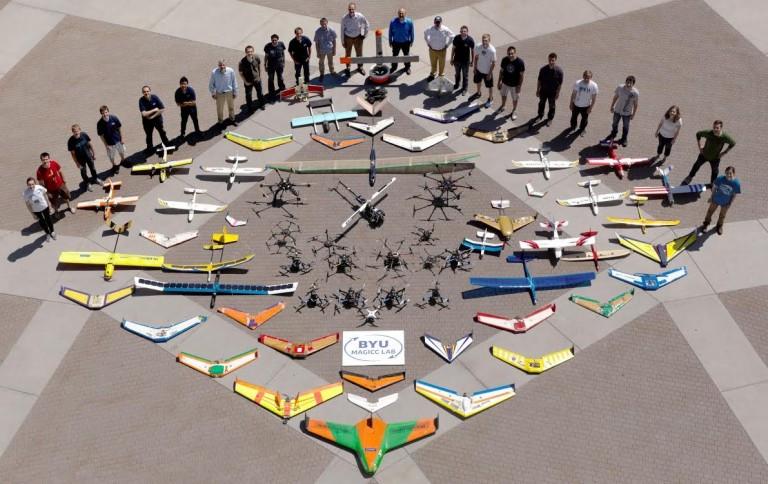 Drones nas faculdades e universidades