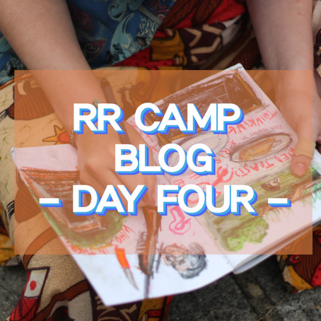Fried Toast - Frisbee - Thinking... - RR Camp Day 4