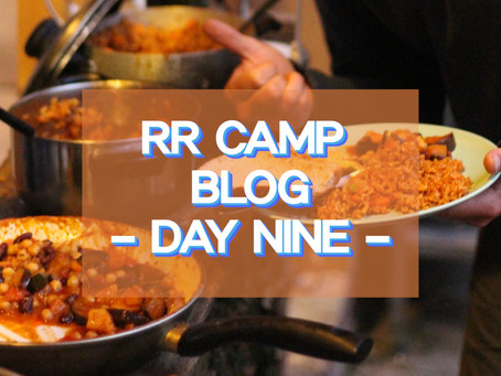 Jollof for the masses! - RR Camp Day 9