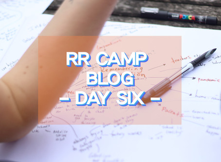School - what is it good for??!!!!! - RR Camp Day 6