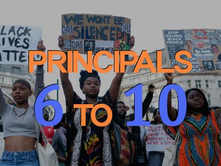 Principles Deep Dive - 6 to 10