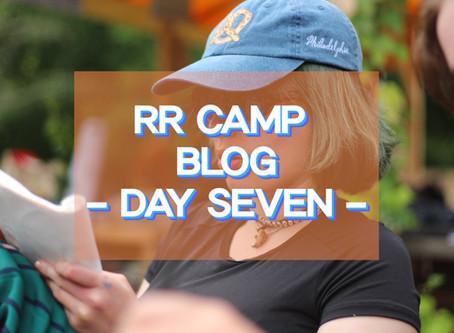 Hettie's Photo Blog - RR Camp Day 7