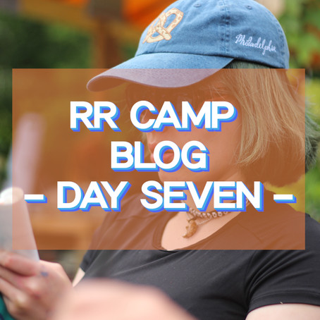 Hettie's Photo Blog - RR Camp Day 7