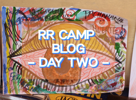 What's in the air raid shelter? - RR Camp Day 2