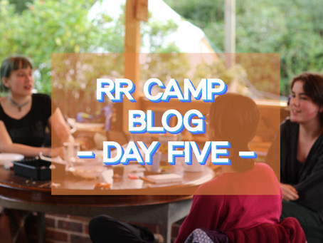 Broccoli Organising and the Energy Vacuum Factory - RR Camp Day 5