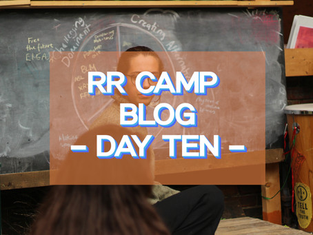 Learning Ecology - RR Camp Day 10