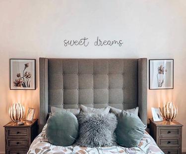 Sweet dreams (September font)