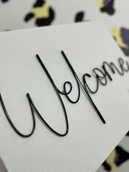 Welcome (October font)