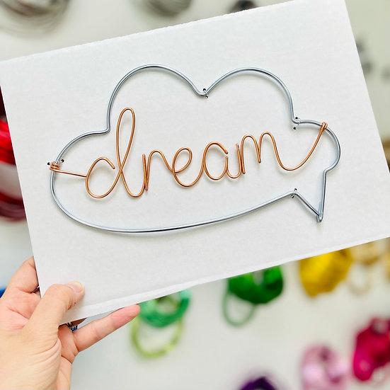 Dream Cloud Speech Bubble