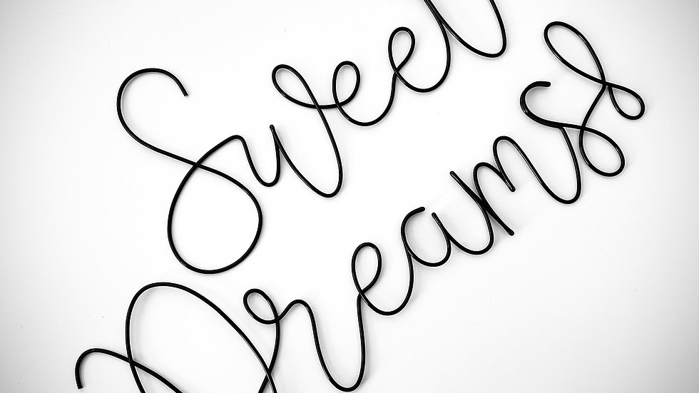 Sweet Dreams! (March font)
