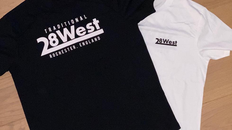 '28 West' Logo T-Shirt