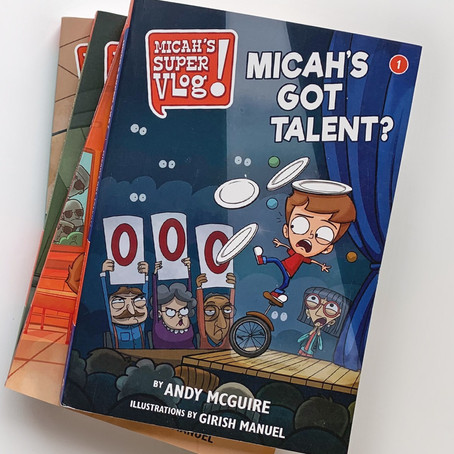 Micah's Super Vlog books earn 5½ stars… out of 5