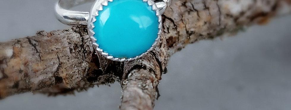 Kingman Turquoise Ring - Robins Egg Blue
